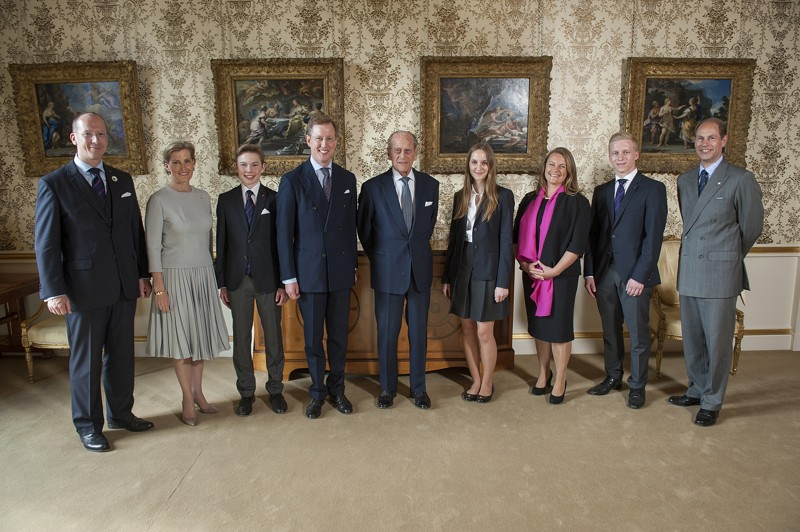 Salemer Delegation zu Besuch bei Prinz Philipp